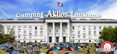 Camping Aktion Lausanne